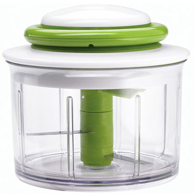 Chefn-VeggiChop-Hand-Powered-Food-Chopper-Arugula