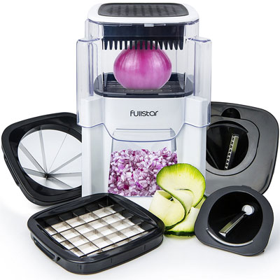 Fullstar-Vegetable-Chopper-Onion-and-Fruit-Cutter-(5-In-1)