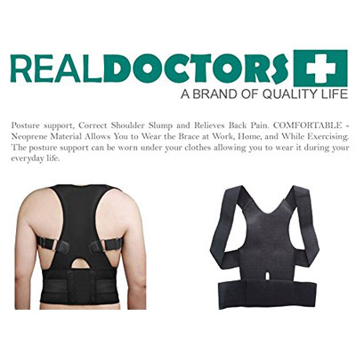 Real-Doctors-Neoprene-Lower-Back-Brace-Posture-Corrector