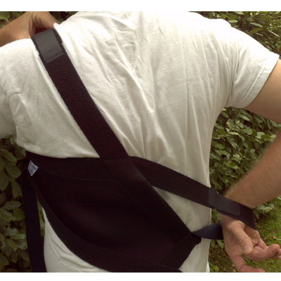 shouldersback-posture-support-putting-on