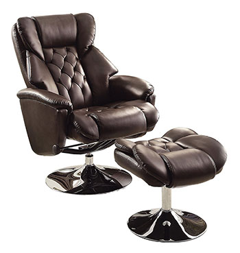 5-Homelegance-8548BRW-1-Swivel-Reclining-Chair-with-Ottoman