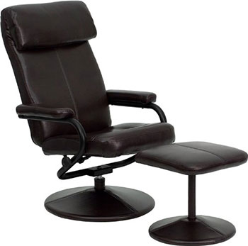 7-Flash-Furniture-Contemporary-Brown-Leather-Recliner