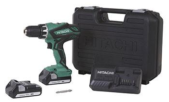 6-Hitachi-DS18DGL-18-Volt-Cordless-Compact-Drill-Driver-Kit