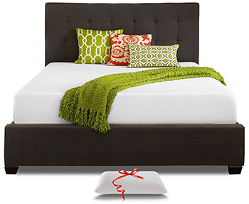 8-Live-and-Sleep-Resort-Classic-Twin-XL-Size-10-Inch-Cooling-Medium-Firm-Memory-Foam-Mattress-and-Pillow