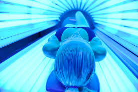 Lay-Down-Tanning-Bed